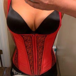 Victoria secret lingerie corset